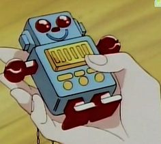 The memo-bot from Marmalade Boy