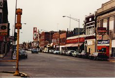 street and Laramie in Cicero, IL. My childhood doctor was across the street from Woolworth's. Half of that block is now gone.