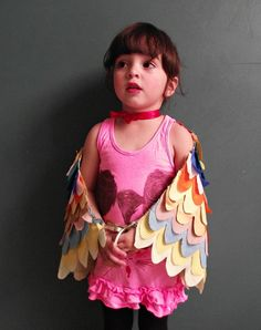 DIY Bird Wings Costu