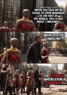 We don't deserve Okoye. | Infinity War, Avengers, film, comics, comic books, comic book movies, Marvel comics, 2010s, 10s, 2018