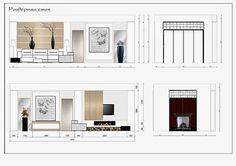 Главная страница - The wave of decor Interior Architecture Drawing, Interior Design Sketches, Interior Design Boards, Furniture Design, Classical Architecture, Autocad, Design Portfolio Layout, Car Interior Upholstery, Interior Design Presentation