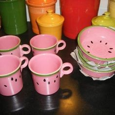 watermellon fiesta ware | Love Fiestaware! / Watermelon Fiesta lovvvvvvvve