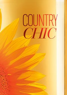 A chic NEW look for a country favorite! #CountryChic