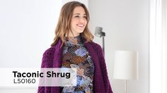 Taconic Shrug video Knit Purl, How To Purl Knit, Lion Brand Free Patterns, Knitted Cape Pattern, Lana, Knit Crochet, Knitting, Sweaters, Jackets