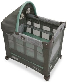 Graco Travel Lite Crib with Stages - Green