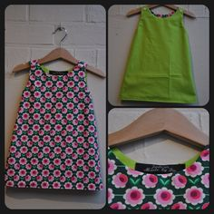 Het omkeerbaar kleedje! Tutorial: http://bloomsnbugs.blogspot.com/2011/08/sew-easy-part-6-reversible-zen-dress.html