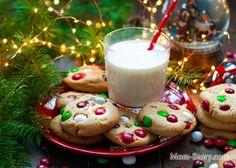 печенье с m&m's и шоколадом рецепт