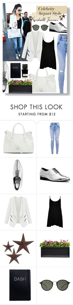 """""""Celebrity Airport Style: Kendall Jenner"""" by katiewelshieee ❤ liked on Polyvore…"""