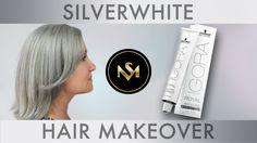 SilverWhite Hair Makeover
