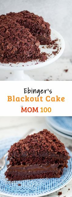 Ebinger's Blackout Cake is the chocolatey, moist and legendary cake from the popular Brooklyn bakery that disappeared in The ultimate chocolate cake - Lives up to the hype! Cake Recipes, Dessert Recipes, Top Recipes, Steak Recipes, Copycat Recipes, Recipies, Dinner Recipes, Hot Chocolate Milk, Chocolate Dreams