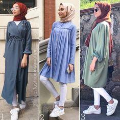Hijab Fashion 20162017 Selection of special trendy veiled looks Look Descreption Hulya Aslan Hijab Fashion Summer, Modest Fashion, Girl Fashion, Fashion Outfits, Hijab Casual, Hijab Chic, Hijab Outfit, Hijab Dress, Islamic Fashion