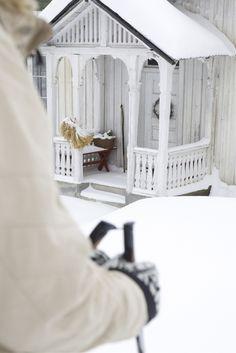 Gorgeous Norwegian porch
