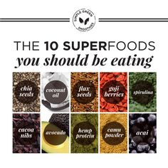 """Superfoods are a quick and easy way to get some serious nutrients into your body. Yet stepping into the world of superfoods can be a little intimidating. We get it. We've been there! """"How much will this cost me?"""" """"Do they taste good?"""" """"Which ones do I use?"""" """"Why do I need those weird things …"""