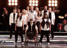 Glee black and white