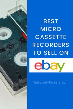 Reselling microcassette voice recorder on ebay on eBay can be very profitable. Here are the specific micro cassette recorders to look for that will make the most money on eBay #ebayseller #reselling #ebayseller Ebay Selling Tips, Selling Online, Successful Online Businesses, Small Businesses, Best Clothing Brands, Vintage Jewelry Crafts, Money Makers, Good Find, Embroidery Hoops
