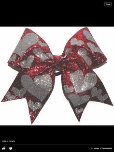 Cute all star cheer bow