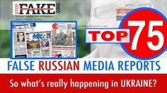 Top 75 fakes of false Russian media reports about Ukraine in one video - Google Search