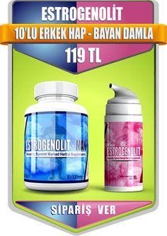 Estrogenolit 10'lu erkek hap - Bayan Damla Sipariş Ver