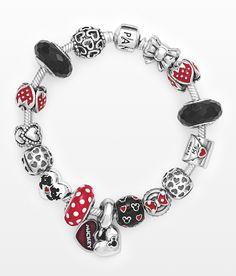 Bracelet for a magical evening #PANDORAlovesDisney #PANDORAbracelet with Minnie and Mickey charms