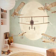 just need to know the exact measure of your wall Hands Wallpaper - just need to know the exact measure of your wall For Kids World Maps with Hot Air Balloon and Brown Helicopter Baby Room Themes, Baby Boy Room Decor, Baby Room Design, Baby Boy Rooms, Little Hands Wallpaper, Kids Room Wallpaper, Wall Wallpaper, Inside A House, Old Room