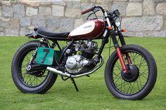 "Yamaha SR125 ""Little Buffalo"" By Cafe Racer Obsession"
