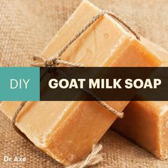 Homemade Goat Milk Soap for Acne-Free and Supple Skin - Dr. Axe
