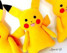 Mimos da Gil: Pikachu