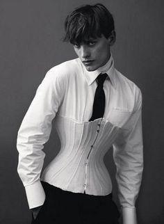 Cute men's corset