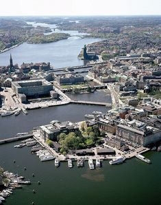 the city of Stockholm from above Kingdom Of Sweden, Baltic Cruise, Stockholm City, Scandinavian Countries, Beautiful Places In The World, Denmark, Helsinki, Norway, Scenery