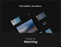 Yandex.Weather on Behance