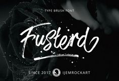 Fusterd Brush Typeface is a stylish contemporary brush font you've been looking for, Its unique flow and style makes it perfect to use for prints, etc. Brush Font, Brush Lettering, Font Creator, Free Typeface, Commercial Fonts, Typography Letters, Cool Websites, Web Design, Graphic Design