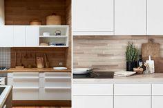 Materiales para el revestimiento de frentes de cocina