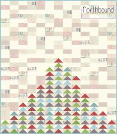 Piece N Quilt: Northbound Quilt - The Christmas Version - A Free Tutorial