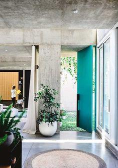 Light-filled Melbourne home hidden behind guarded facade