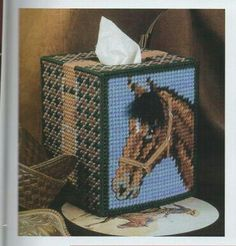 images about Plastic canvas Plastic Canvas Ornaments, Plastic Canvas Tissue Boxes, Plastic Canvas Crafts, Plastic Canvas Patterns, Tissue Box Holder, Tissue Box Covers, Tissue Box Crafts, Crochet Horse, Music Crafts