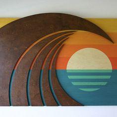 Wave Art - Shaun Thomas - surf art - wave decor - surf decor - wave designs - surf interior - beach decor - beach interior - waves - wave art - home decor - San Diego - Orange County - San Clemente - Laguna Beach Surfboard Decor, Wooden Surfboard, Surf Decor, Decoration Surf, Art Plage, Wave Art, Wave Design, Surf Design, Surf Art
