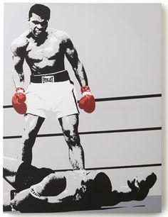 Muhammed Ali Canvas - Boxing Art