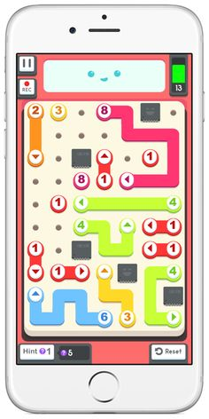 a strategy centered puzzle game for kids, Drag your fingers across the screen and rewire the numbers to fix each little robot. Free Educational Apps, Puzzle Games For Kids, Stem For Kids, Ipads, Math Activities, Autism, Robot, Free Apps, Lab