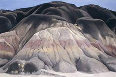 Georgia O'Keeffe (American, 1887-1986), Grey Hills, 1941.