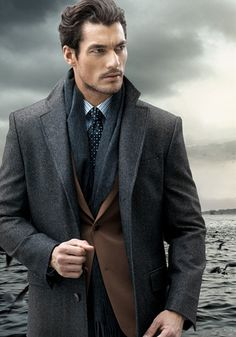 David Gandy could seriously wear a paper bag and he'd be so sexy in it......