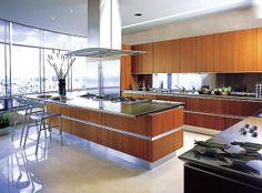 Italian Modern Kitchen Designs by Snaidero USA: Idea cabinets in Mexico City.