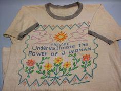 vintage feminist shirt (etsy) #feminism