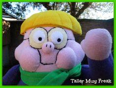TallerMuyFreak Clarence- Jeremy , peluche, plush.