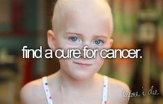 My dream is to become a pediatric oncologist for this one simple yet so complicated reason.