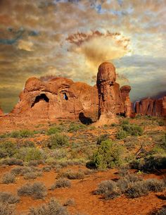 Amber Arches, Arches National Park, Utah. Photo: Marty Koch