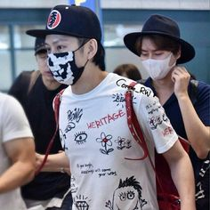 Heechul's shirt is always fun
