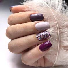 """✔ perfect winter nail designs to make you feel warm 40 > Fieltro.Net""""> ✔ perfect winter nail designs to make you feel warm 40 > Fieltro. Nail Design Spring, Winter Nail Designs, Acrylic Nail Designs, Nail Art Designs, Nails Design, Acrylic Nails, Coffin Nails, Love Nails, Fun Nails"""