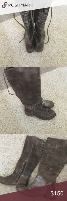 Corral Boots Lightly worn Corral boots great condition size 7 real leather Buckle Shoes