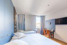 Chambre quadruple standard sans vue de mer St Malo Hotel Saint Malo, St Malo, Room, Furniture, Home Decor, Bedrooms, Home Ideas, Bedroom, Rum