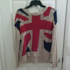 UK Flag Sweater Cozy sweater!  Not sure where I purchased it from. Most likely not from H&M. In good condition :) H&M Sweaters